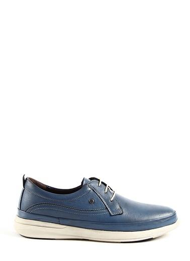 Tripy Deri Ayakkabı Mavi